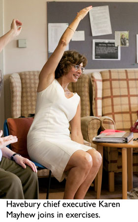 elderly home exercise program pdf